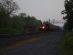 "CSX 4794 & CSX 4750 passing the CP 382 Bldg. approaching Atridge Rd. and about to get on the ""West Shore Branch"" heading EB"