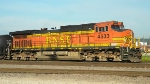 BNSF 4533 Right Side