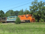 Hartwell Railroad - they have picked up 654 and it does not have air conditioning