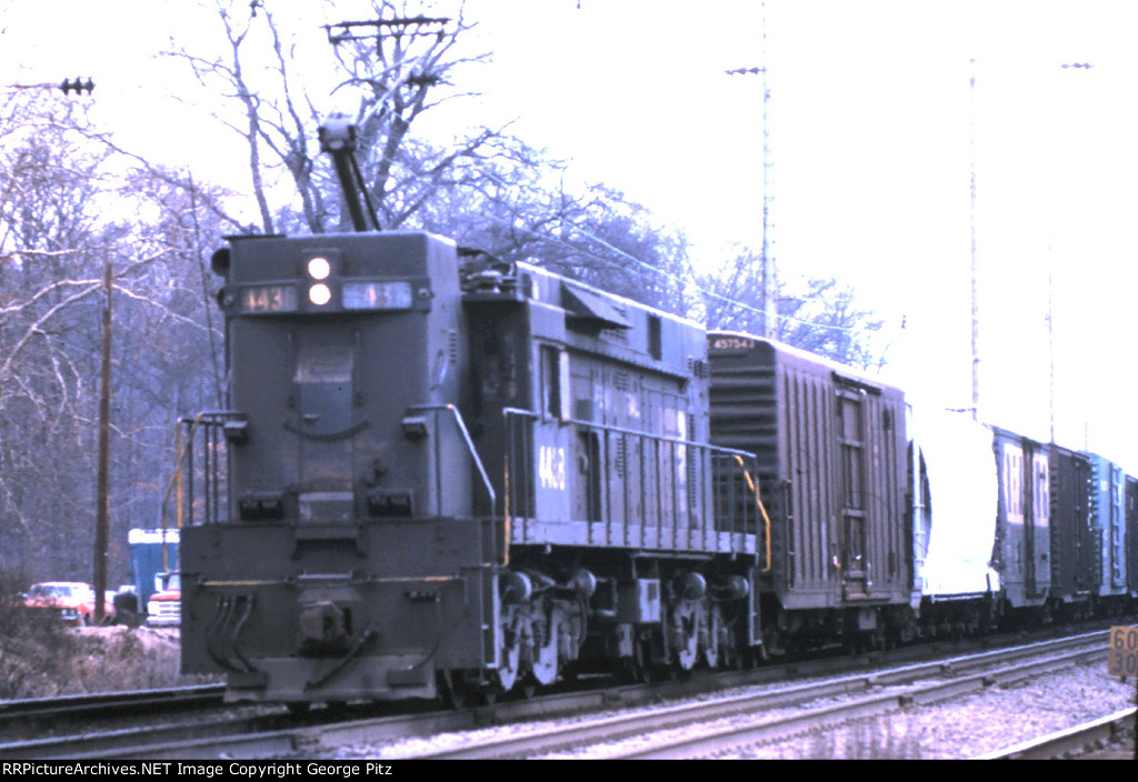Penn Central E44 4438 at Chase, MD