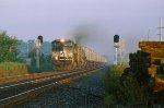NS C40-9W 9212, Goshen, IN.