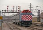 METX 103 shoving towards Union Station