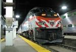 Metra 427 waiting at the station