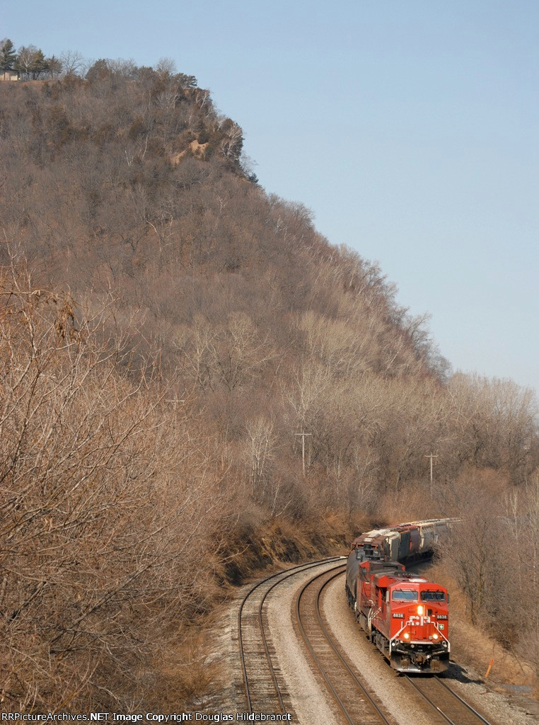 Big train, bigger bluffs