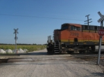 BNSF 7399 Crossbuck crossing