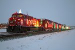CP 9815 Holiday Train Portage 6 dec 09