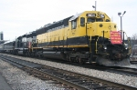 NYS&W WSPX Toys fot Tots Marine Corps Special train prior to departure