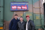 NYSW employees(L-R) Steve Gerritsen, Frank Eichenlaub, Allen Alloco
