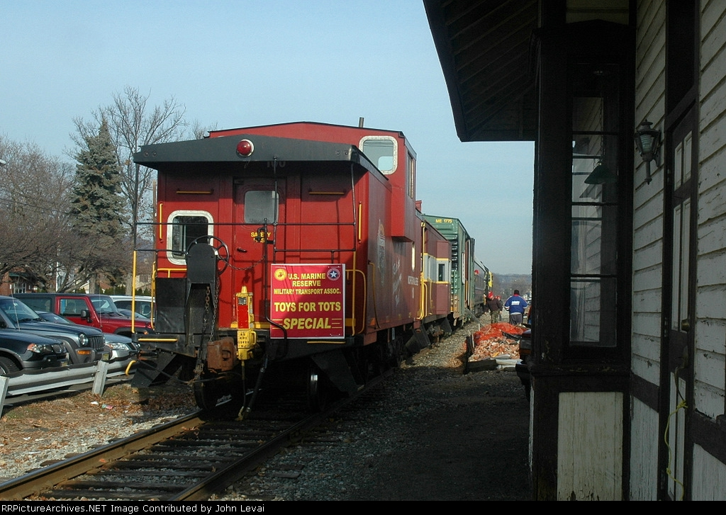 NJ Toys for Tots Train