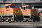 BNSF 5660 & BNSF 4565 At BNSF Locomotive Shop Denver