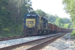CSX 2316 wating to enter Rock Spur