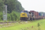 CSX 8775 waiting for a signal to leave Fairburn Intermodal Yard north