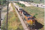 Eastbound intermodal