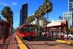 SDMTS 1003 passing the Convention Center