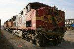 Wreck-damaged BNSF 793
