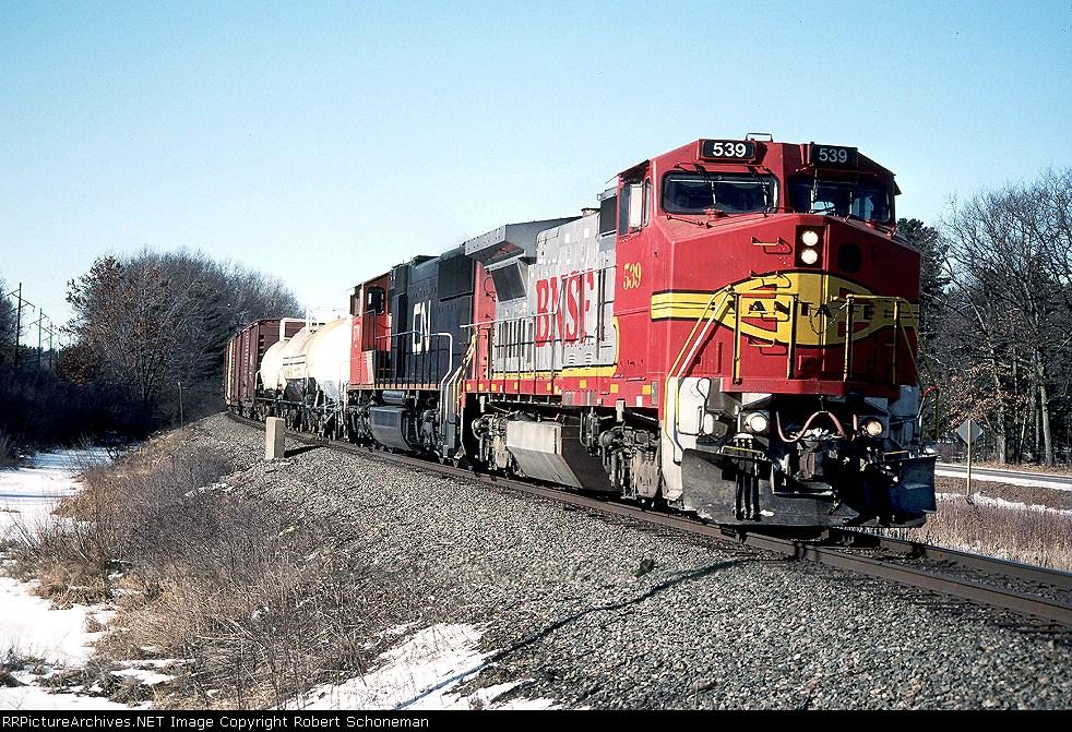 BNSF 539 T408