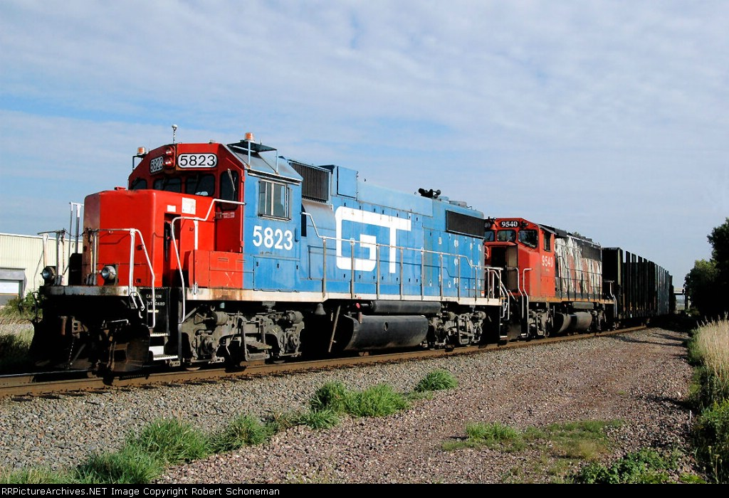GTW 5823 T416 PushN end