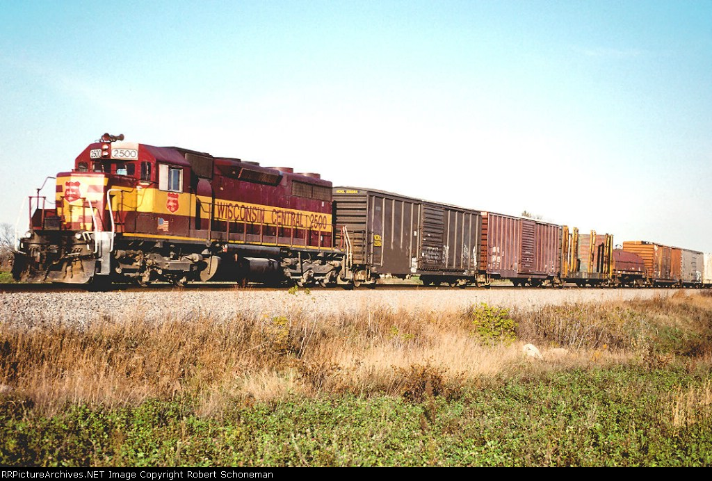 CN WC 2500 SD39-3 Sunrise T416