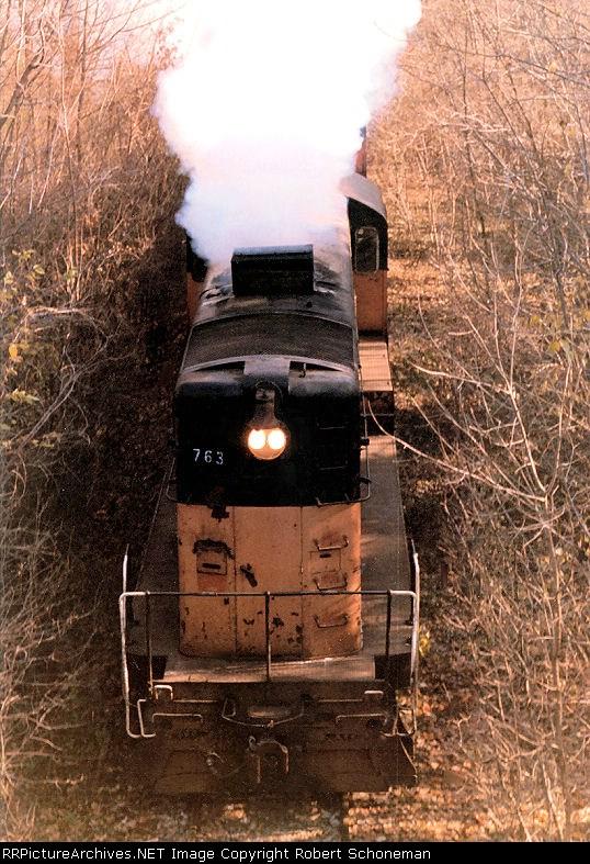 Wisconsin Western Railroad 763
