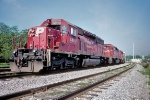 CP 5808+ and alll EMD trio, with StL&H- geting rarer to find...6-4-07