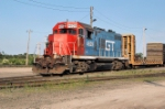 GT GP9R 4629 at Shops Yard 6-30-07