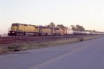 UP WB freight heading for Englewood