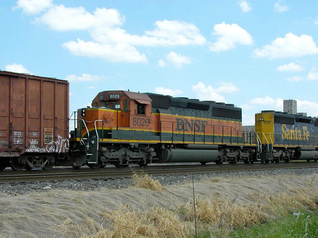BNSF 8026