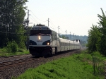 AMTK 90230 Heading back north