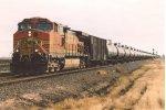 Westbound crude oil train