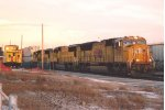 Westbound intermodal passes depot