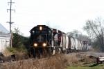 IC 1024, northbound CN train A43171-05