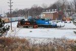 WE 6348 and ABC Railway 1501 ay Brittain Yard engine facilty