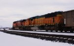 BNSF 8921 lending some quality EMD muscle to the mty coal train.