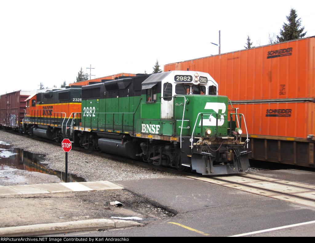 BNSF 2982