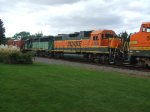BNSF 2308 and 3150