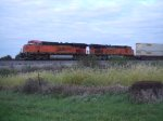 BNSF 7550 and 7488
