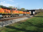 BNSF 4535 and 4301