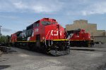 Newly Painted CN Locos