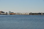 CSX 0823 Crossing the Manatee river