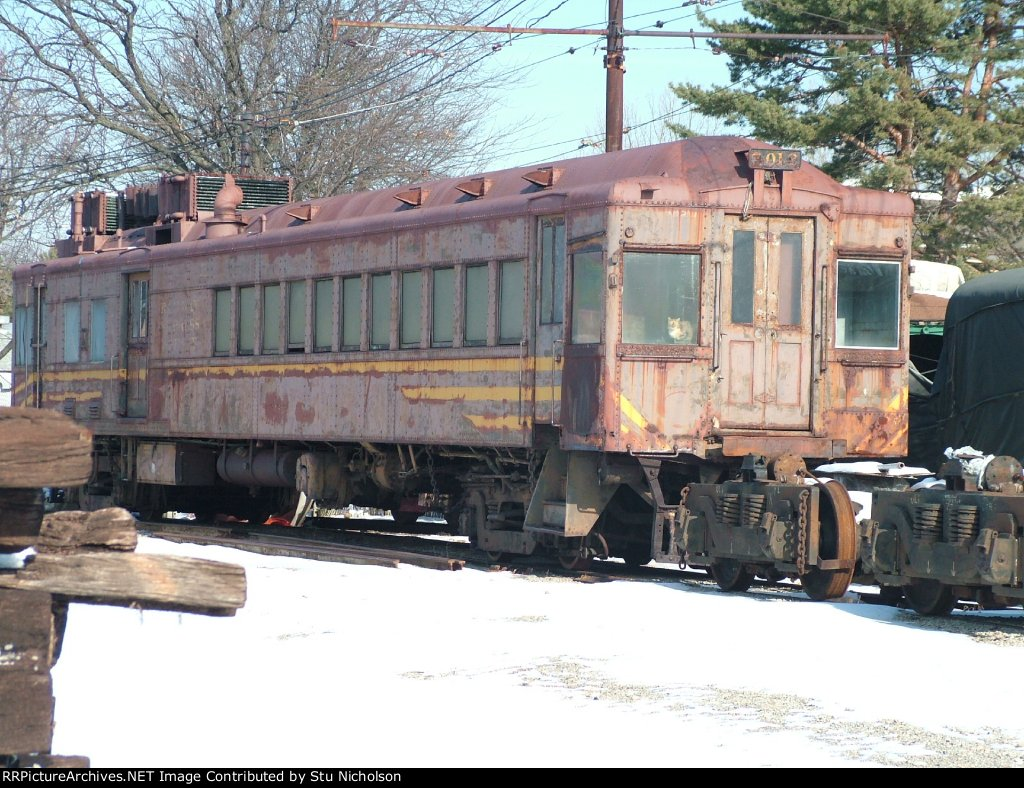 ex-Erie RR Gas-Electric