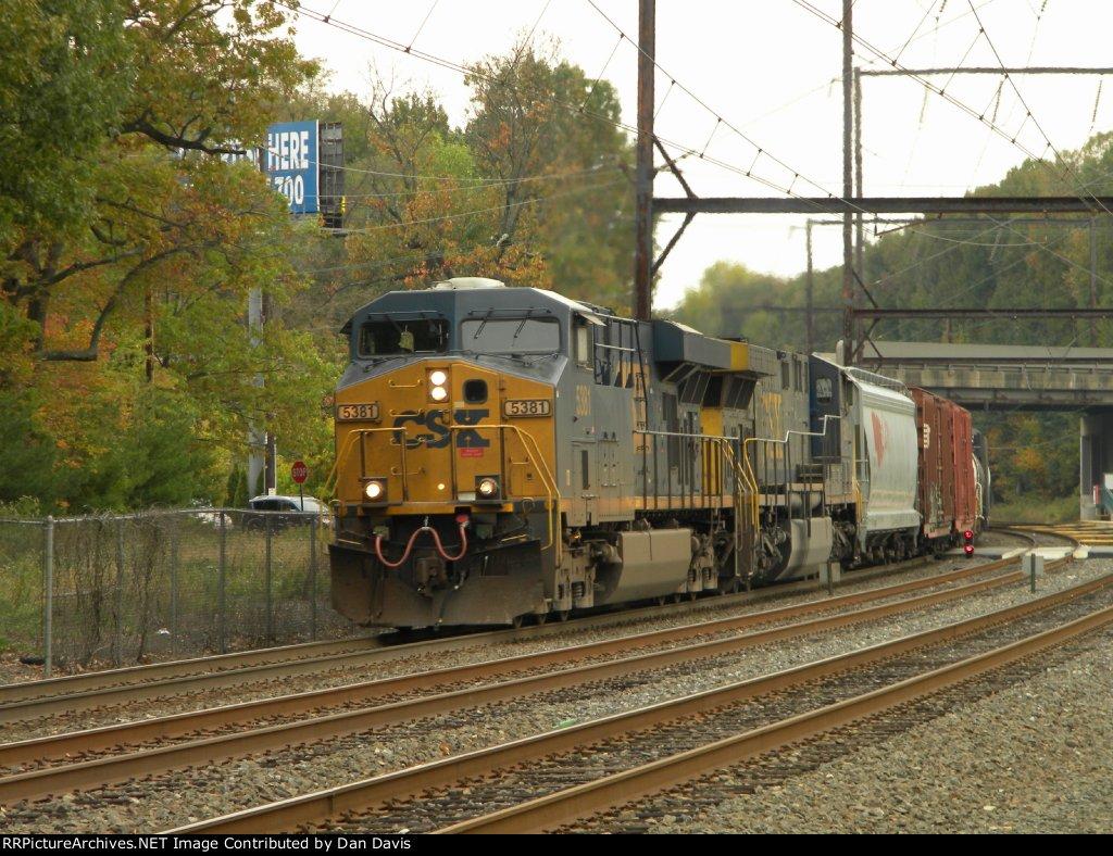 CSX 5381 Q438-19