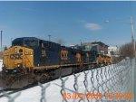 CSX Q293 with 2 Union Pacific units
