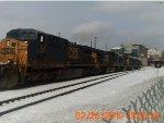 CSX Q425 light engine move