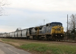 CSX 7904 leads train Q494 north