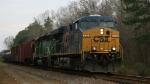CSX 5338 leads train Q409 southbound