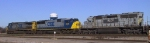 CSX 206 leads a southbound train out of Florence Yard