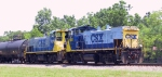 CSX 1185 & 1178 lead a train back to Bennett Yard