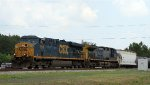 CSX 5348 leads train Q409-28 southbound
