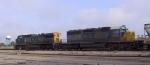 CSX 8888 & 9027 head southbound