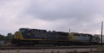 CSX 499 & 6144 lead a train southbound